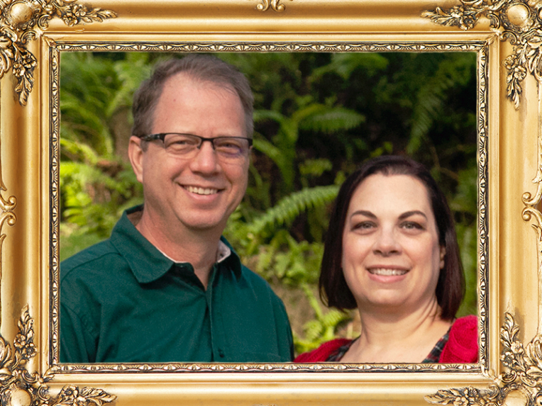 Pastor Roger Hagen and wife Shannon